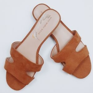 Who what wear faux suede sandals